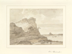 River scene near Allahabad (U.P.). c. December 1788 or October 1789